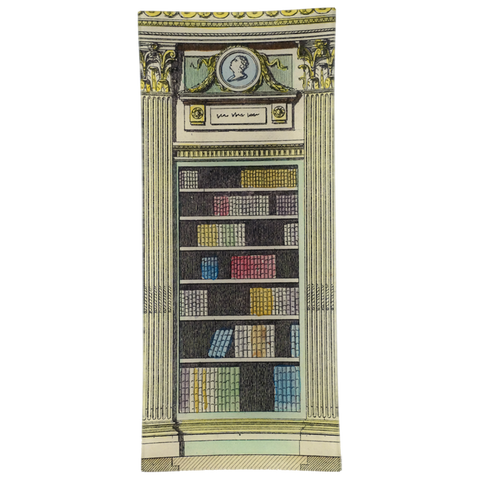 Library Cameo White Yellow