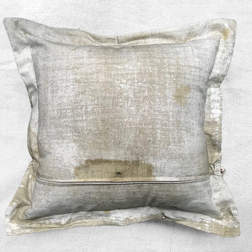 """Heather Fields"" Vintage Painting Pillow"
