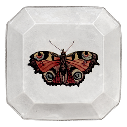 Butterfly Square Plate