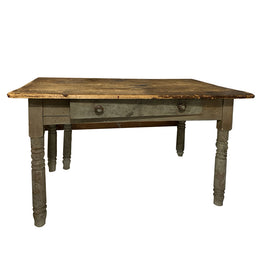 19th Century Single Drop Leaf Bakers Table