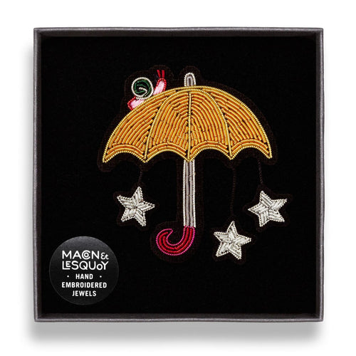 Starry Umbrella Pin