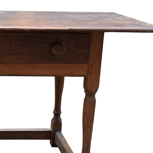 Antique Single Drawer Tavern Table