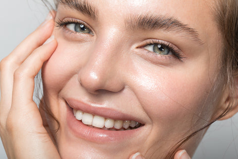 How to get glowing, dewy skin.