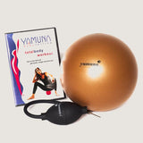 TOTAL BODY ROLLING BEGINNER KIT (choice of either gold ball or silver ball, pump and DVD.)