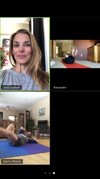 My Body Couture Advanced Pilates 1 hour Live Online Zoom Group Class Tuesdays 11:30am MST One Month class series