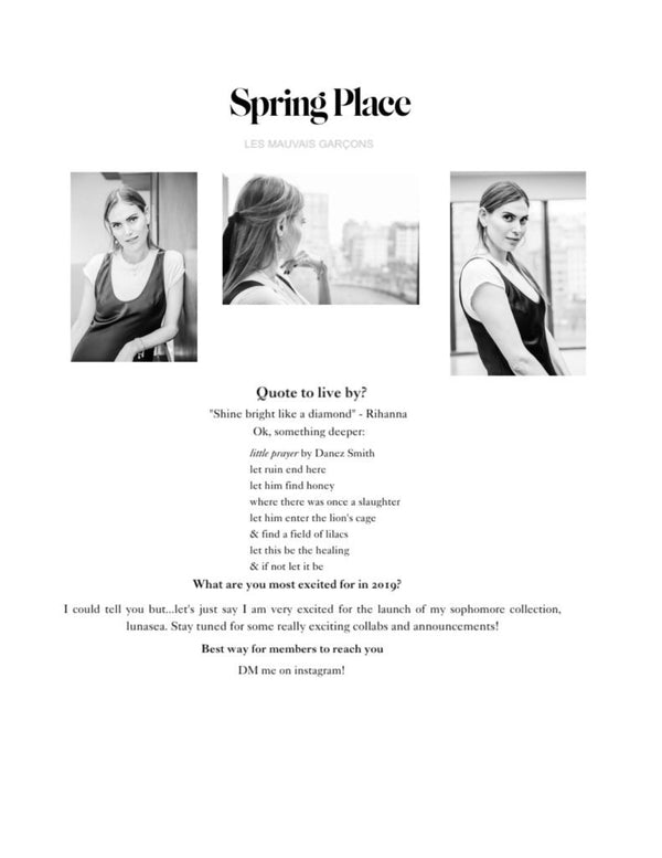 Spring Place: Member Monday