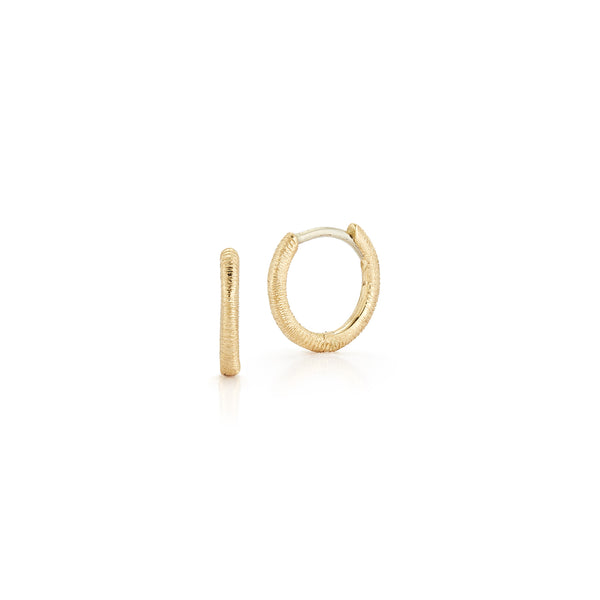 Florentine Hoop Earrings - Small