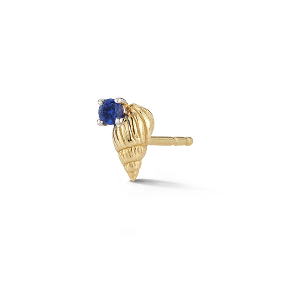 Bitsy Ursula Stud with Sapphire - Closed