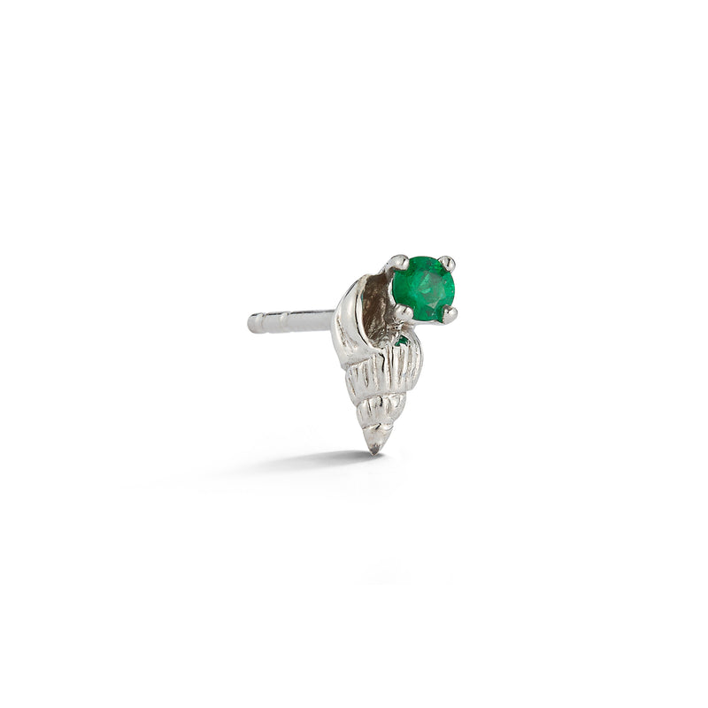 Bitsy Ursula Stud with Emerald - Open