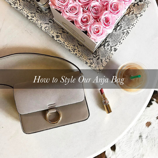 How to Style Our Anja Bag