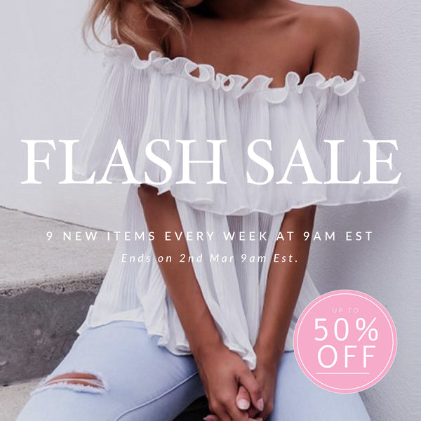 Flash Sale Tuesday
