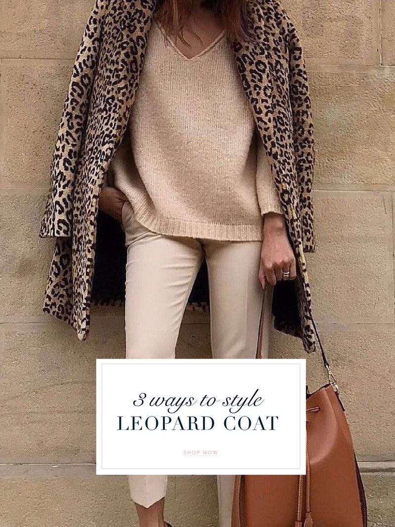 3 Ways To Style Leopard Coat
