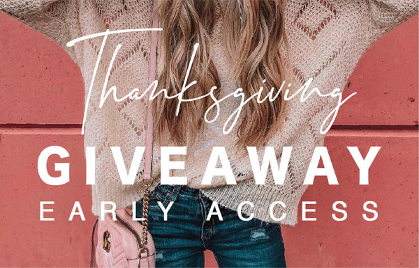 Thanksgiving Giveaway 2018
