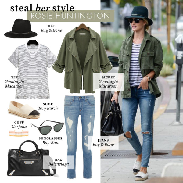 steal her style | rosie huntington
