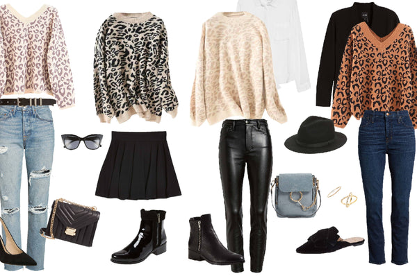 Trending: 4 Ways To Style Leopard Sweater