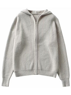 'Joanna' Zip-Up Hoodie Sweater