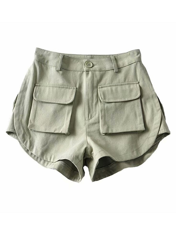 'Bobo' Two Front Pockets Shorts (3 Colors)