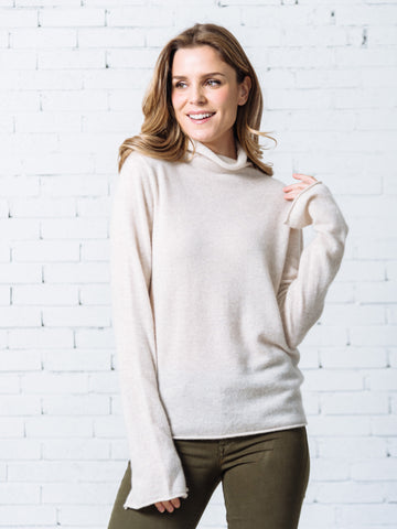 'Fannie' Ruffle Fluted Sleeve Top ( 2 Colors Available )