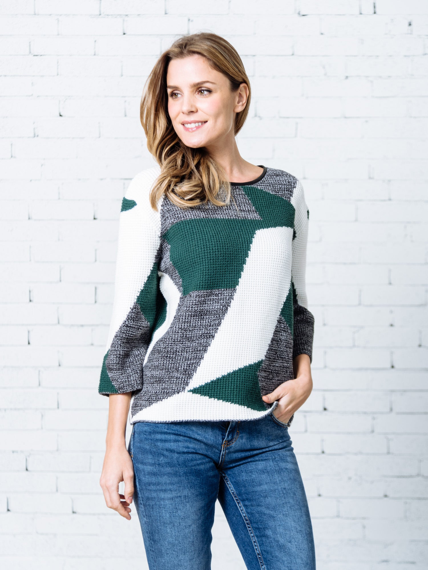 'Kanesha' Bold Color Sweater (2 Colors)