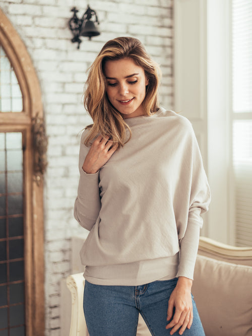 'Irene' Oversized Lightweight Sweater