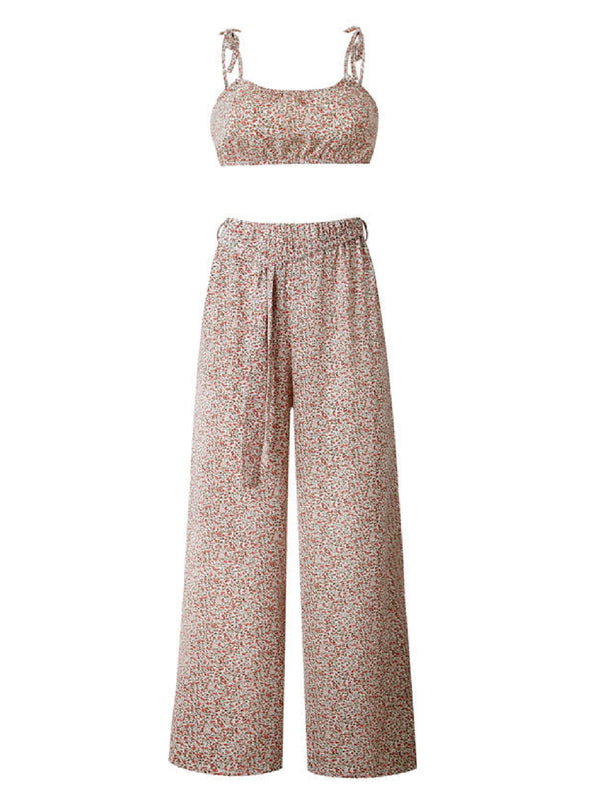 'Delaney' Strap Floral Co-Ord