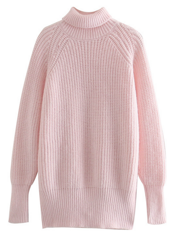 'Gloria' Turtleneck Long Sweater
