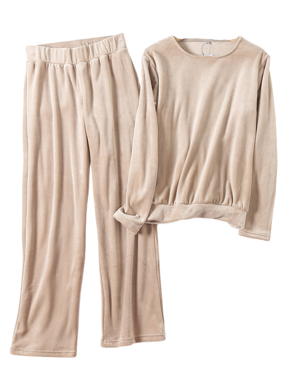 'Chantelle' Soft Fleece Loungewear Set (2 Colors)