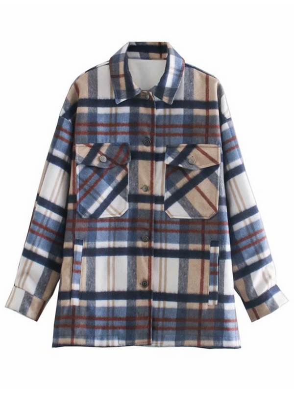 'Helena' Thick Plaid Shirt