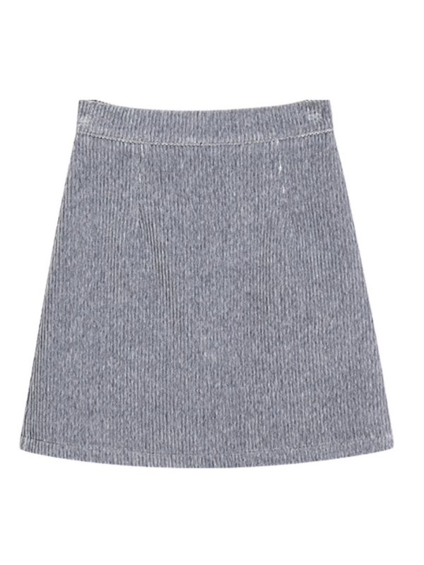 'Judy' Corduroy Mini Skirt (4 Colors)