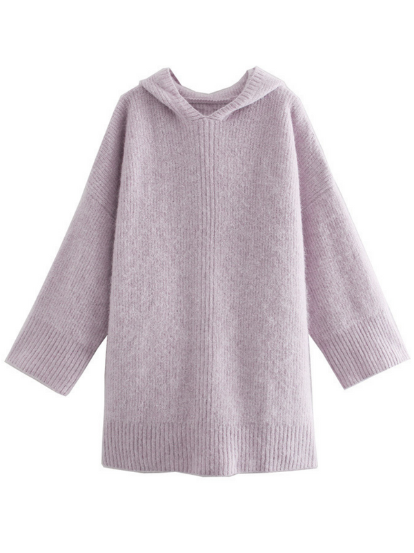 'Jimmy' Oversized Hooded Sweater Dress