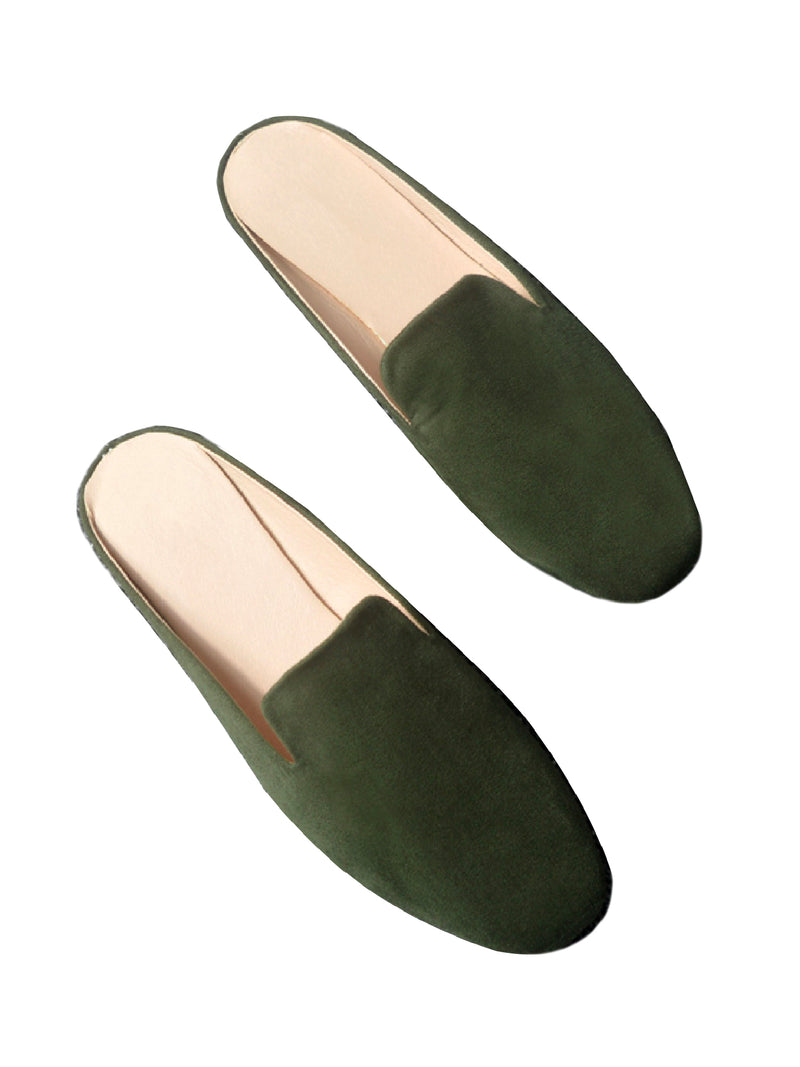 'Yankee' Velvet Loafers (5 Colors)