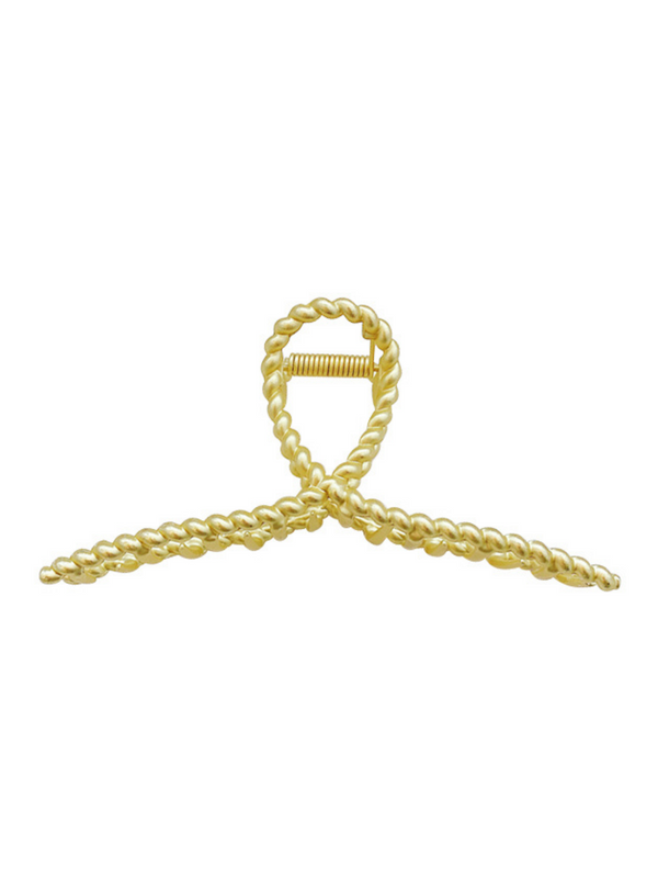 'Makki' Gold Hair Claw (4 Styles)