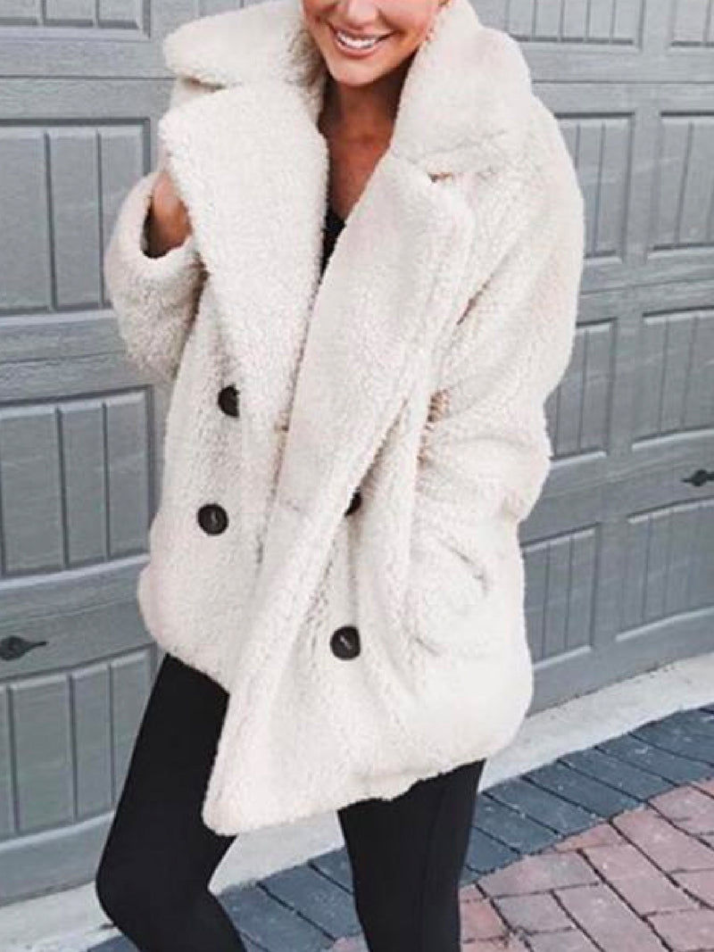 'Stella' Oversized Teddy Bear Coat (6 Colors)