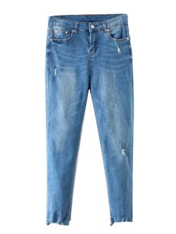 'Jay' Distressed Skinny Jeans