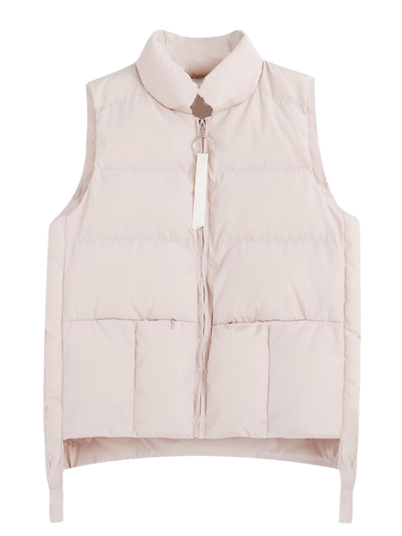 'Oria' Puffy Down Vest Jacket (4 Colors)