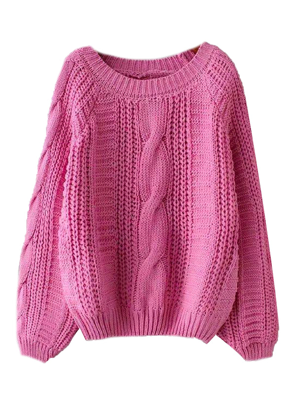 'Kimmy' Chunky Knit Sweater (2 Colors)