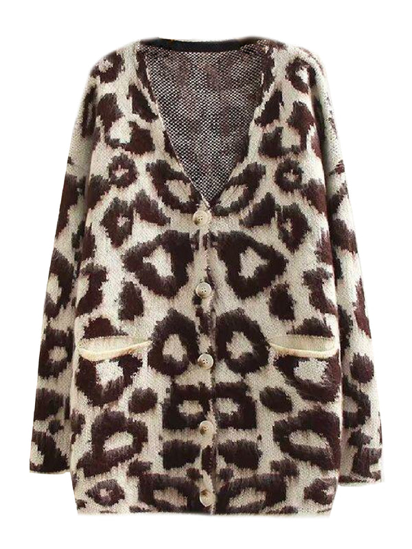 'Merilyn' Leopard Print Cardigan (2 Colors)
