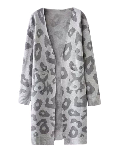 c32346a5990  Reilly  Leopard Print Open Cardigan (4 Colors)