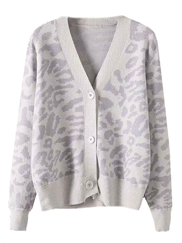 'Saphira' Leopard Print Button Down Cardigan (3 Colors)