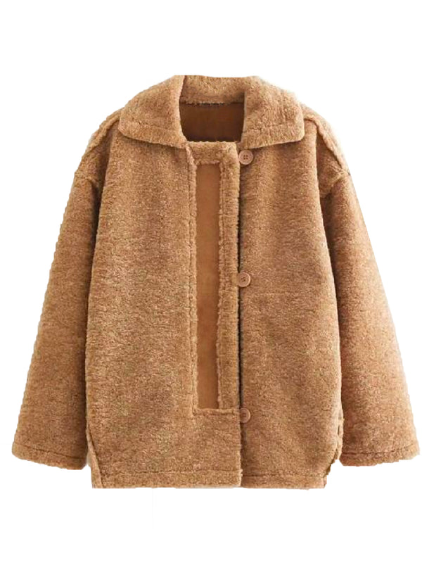 'Duffy' Faux Fur Fluffy Jacket (3 Colors)