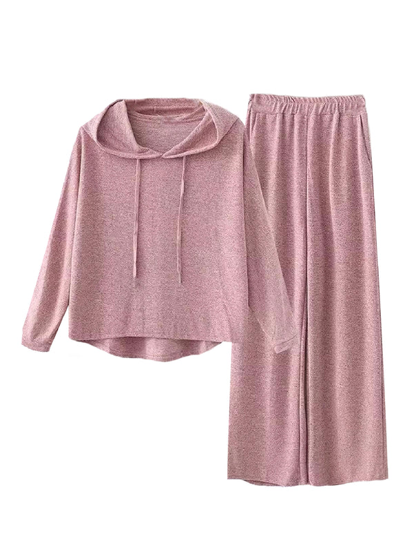 'Zaneb' Jersey Loungewear Set (5 Colors)