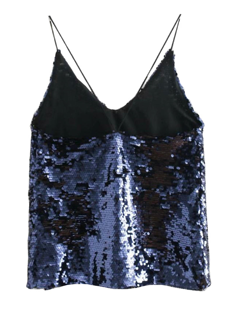 'Tilly' Sequinned Cami Top