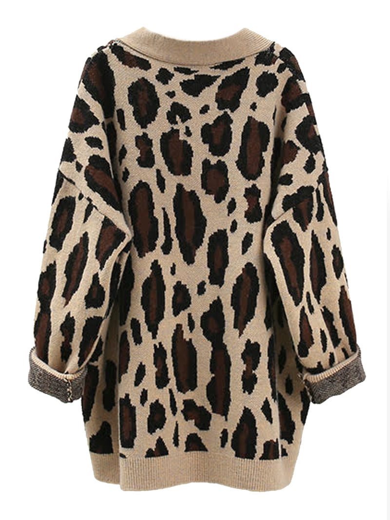 'Aditi' Leopard Print Open Cardigan (3 Colors)