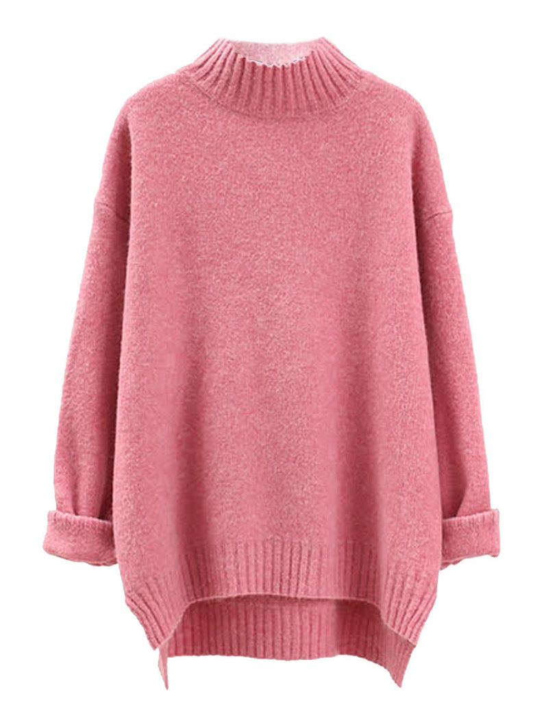 'Ishtar' Mock Neck Oversized Sweater (3 Colors)