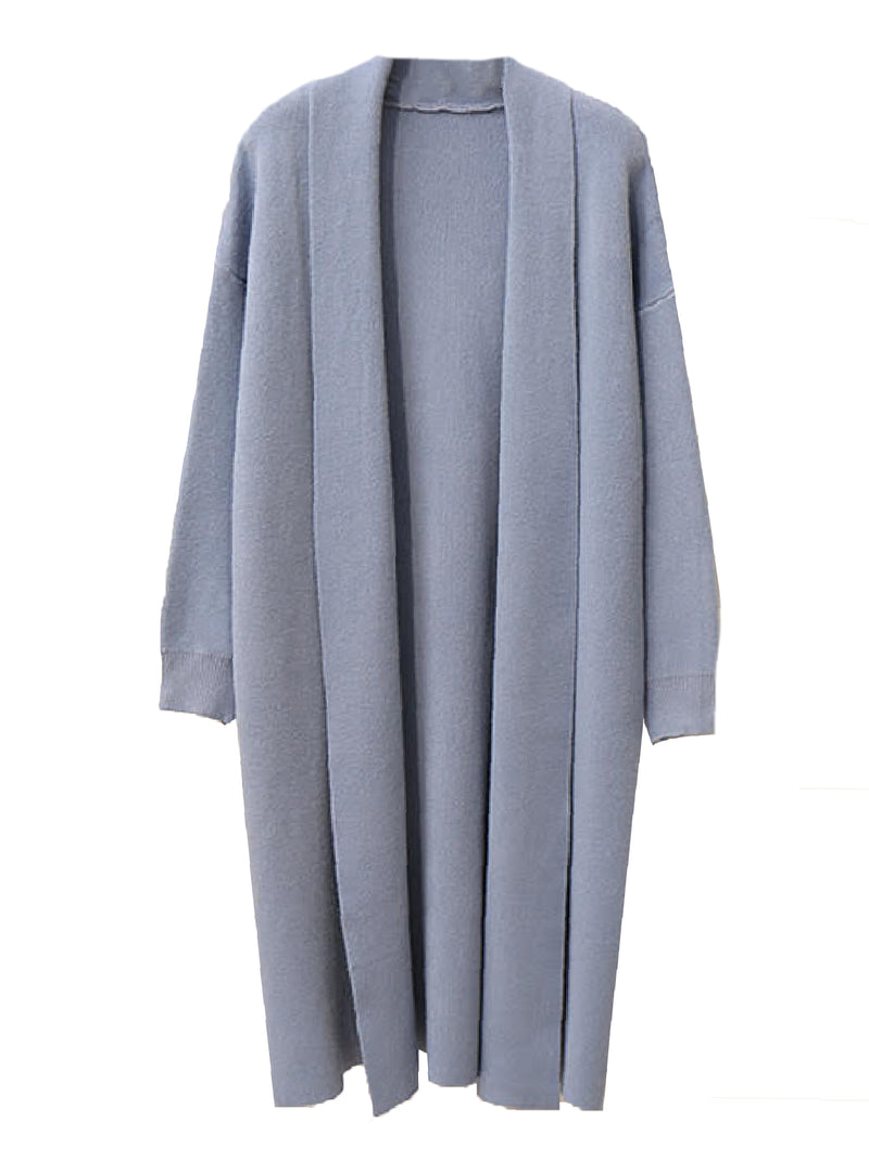 'Juno' Longline Open Cardigan (5 Colors)