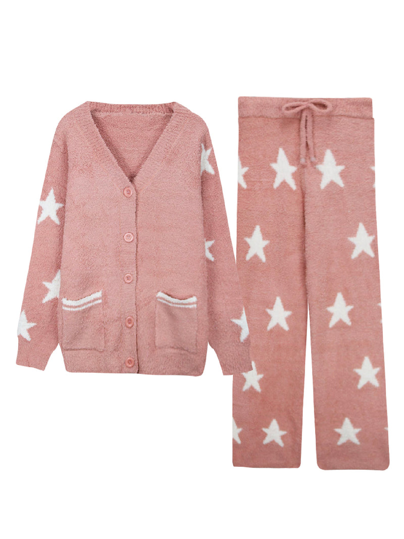 'Darcey' Star Pattern Pyjama Set