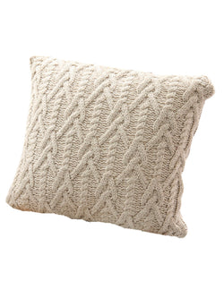'Tinsley' Cable Knit Cushion Cover (3 Colors)