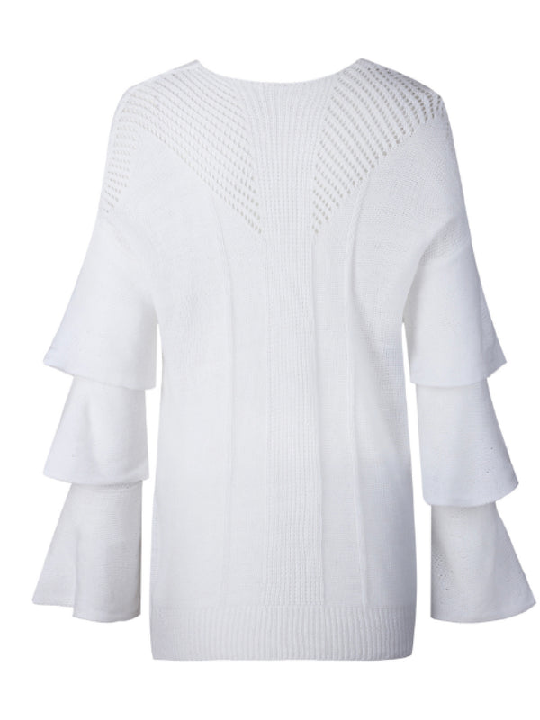 'Pixie' Layered Sleeve Sweater