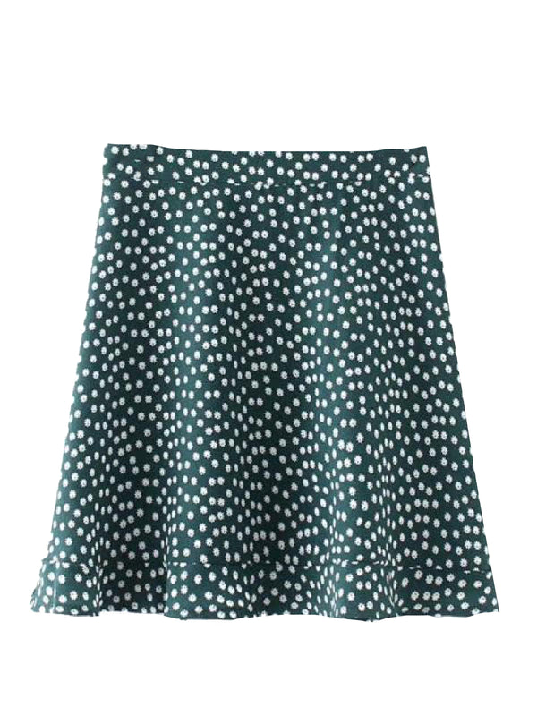 'Amity' Printed Flowy Mini Skirt (3 Colors)