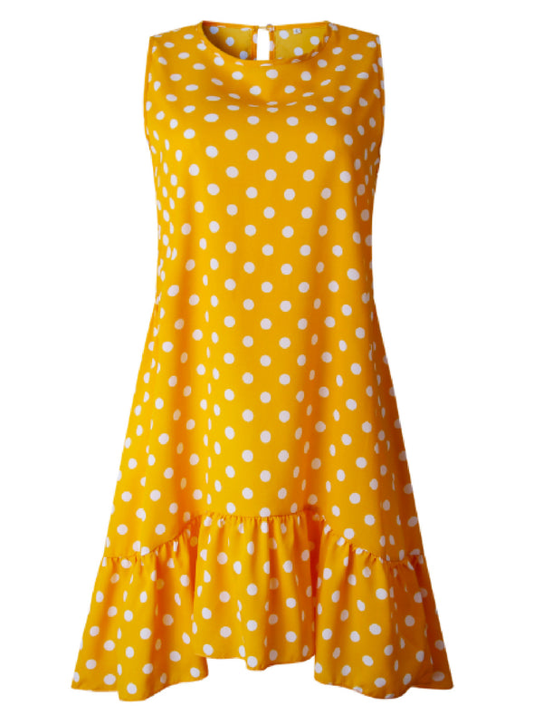 'Ekin' Polka Dot Sleeveless Mini Dress (3 Colors)
